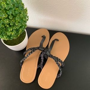 NWT Braided Sandals | Forever 21